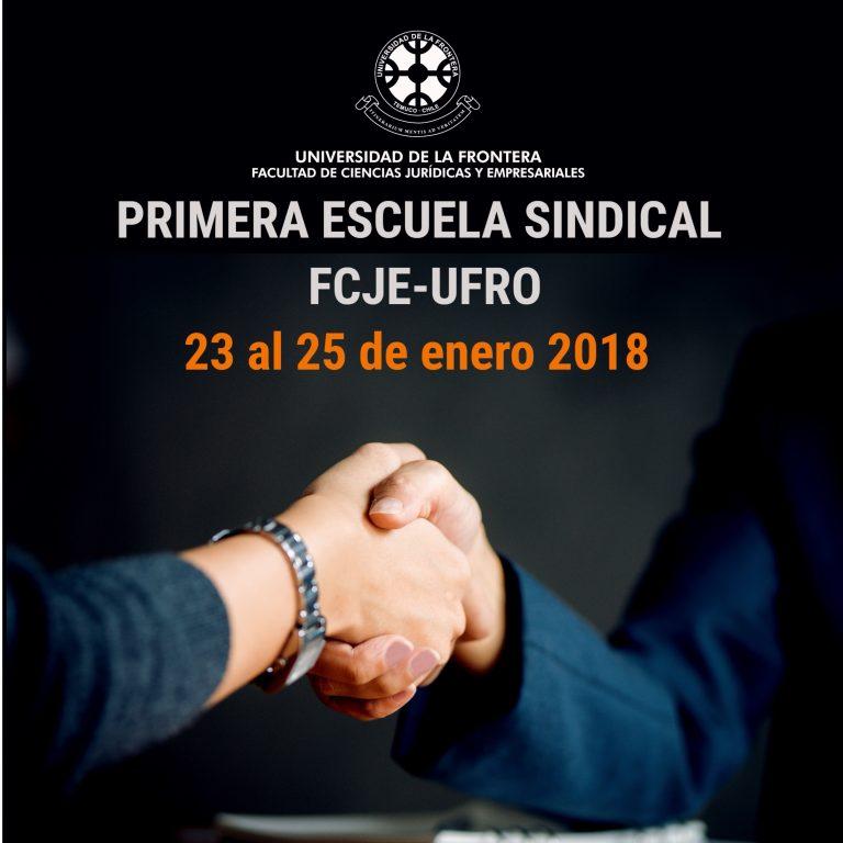 Escuela Sindical FCJE-UFRO