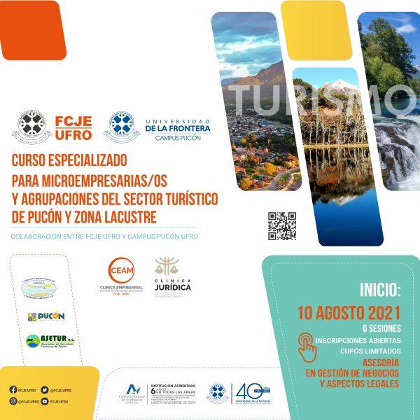 Curso especializado para microempresarias(os) y agrupaciones del sector turístico de Pucón y zona lacustre