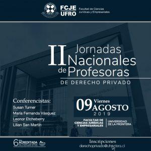 II Jornadas Nacionales de Profesoras de Derecho Privado